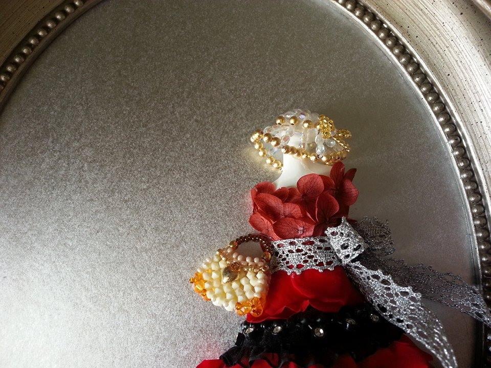 プリザーブドフラワー成増 Petit Flora【プリンセスドール(レッド)】3